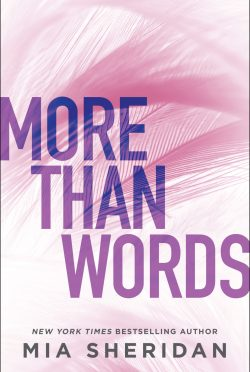 Cover Reveal: More Than Words by Mia Sheridan