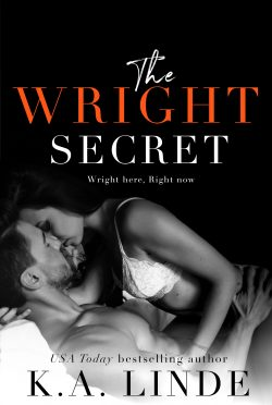 Cover Reveal: The Wright Secret (Wright #4) by KA Linde