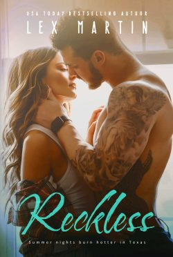 Cover Reveal & Giveaway: Reckless by Lex Martin