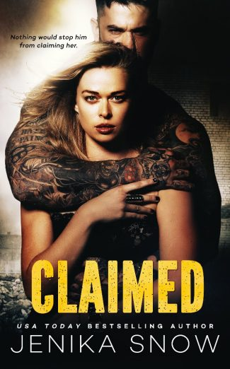 Cover Reveal: Claimed by Jenika Snow