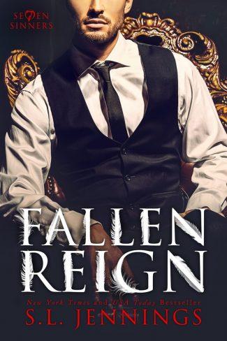 Cover Reveal: Fallen Reign (Se7en Sinners #4) by SL Jennings