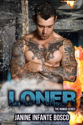 Cover Reveal & Giveaway: Loner (Nomad #4) by Janine Infante Bosco