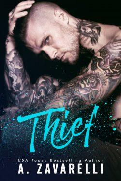 Cover Reveal & Giveaway: Thief (Boston Underworld #5) by A Zavarelli