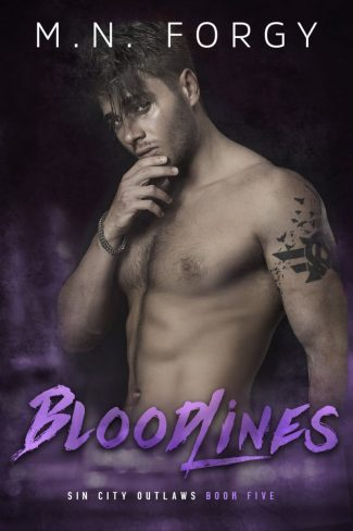 Cover Reveal: Bloodlines (Sin City Outlaws #5) by MN Forgy