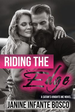 Cover Reveal & Giveaway: Riding The Edge by Janine Infante Bosco