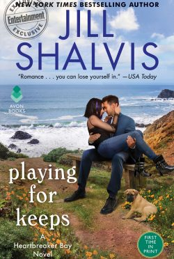 Cover Reveal: Playing for Keeps (Heartbreaker Bay #7) by Jill Shalvis