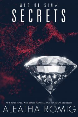 Cover Reveal: Secrets (Web of Sin #1) by Aleatha Romig