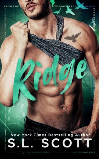 Cover Reveal: Ridge (Crow Brothers #4) by SL Scott
