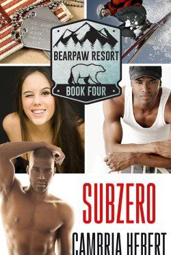 Cover Reveal: Subzero (BearPaw Resort #4) by Cambria Hebert