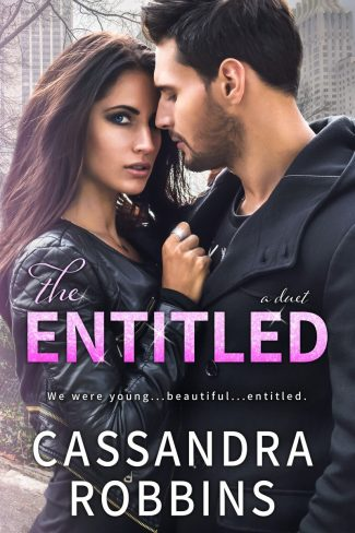 Cover Reveal: The Entitled (Entitled Duet #1) by Cassandra Robbins