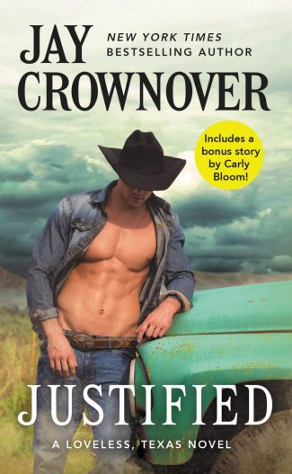 Cover Reveal: Justified (Loveless, Texas #1) by Jay Crownover
