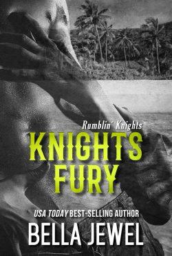 Release Day Blitz: Knights Fury (Rumblin' Knights #2) by Bella Jewel