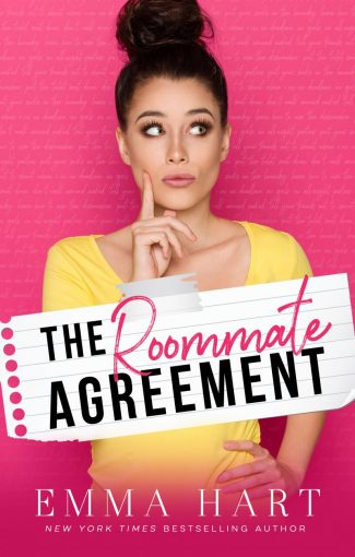 Cover Reveal: The Roommate Agreement by Emma Hart