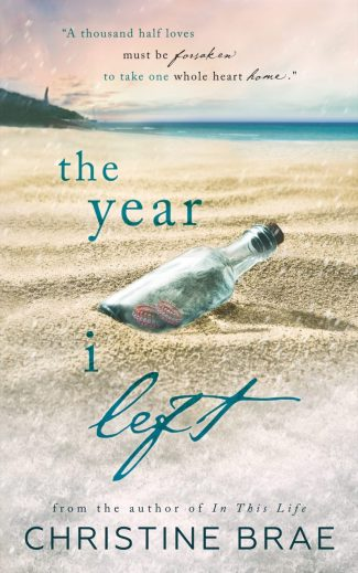 Cover Reveal: The Year I Left by Christine Brae