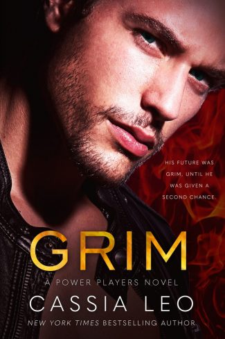 Cover Reveal: Grim (Power Players #1) by Cassia Leo