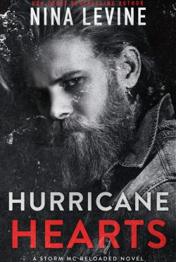 Cover Reveal: Hurricane Hearts (Storm MC Reloaded) by Nina Levine