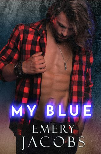 Cover Reveal & Giveaway: My Blue by Emery Jacobs