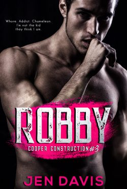 Release Day Blitz: Robby (Cooper Construction #3) by Jen Davis
