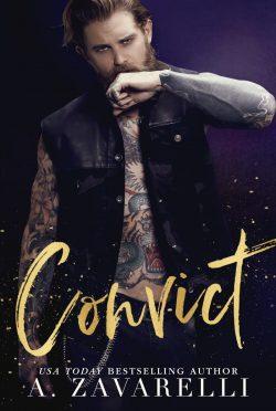Cover Reveal: Convict (Sin City Salvation #2) by A Zavarelli