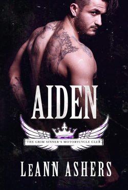 Release Day Blitz: Aiden (Grim Sinners MC #4) by LeAnn Ashers