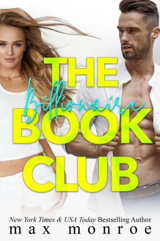 Cover Reveal: The Billionaire Book Club by Max Monroe