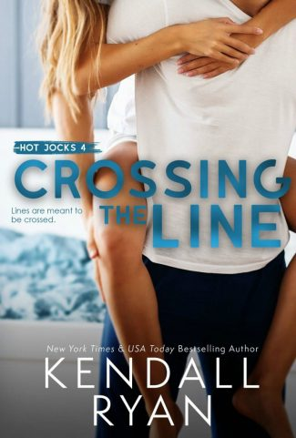 Cover Reveal: Crossing the Line (Hot Jocks #4) by Kendall Ryan