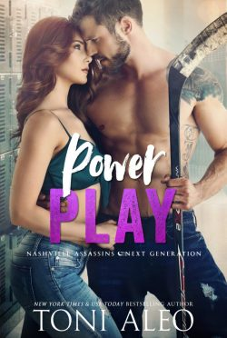 Cover Reveal: Power Play (Nashville Assassins: Next Generation #2) by Toni Aleo