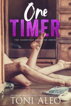Cover Reveal: One Timer (Nashville Assassins #14) by Toni Aleo