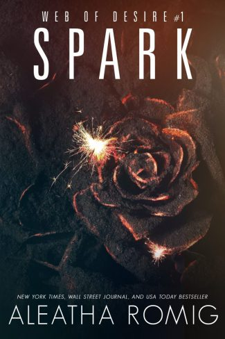 Cover Reveal: Spark (Web of Desire #1) by Aleatha Romig