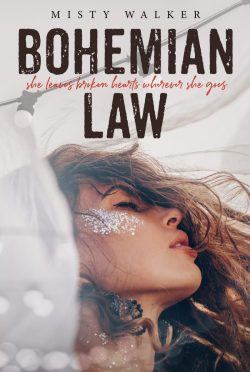 Cover Reveal & Giveaway: Bohemian Law (Traveler #1) by Misty Walker