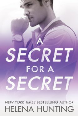 Cover Reveal: A Secret for a Secret (All In #3) by Helena Hunting