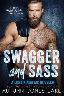 Cover Reveal: Swagger and Sass (Lost Kings MC #15.5) by Autumn Jones Lake