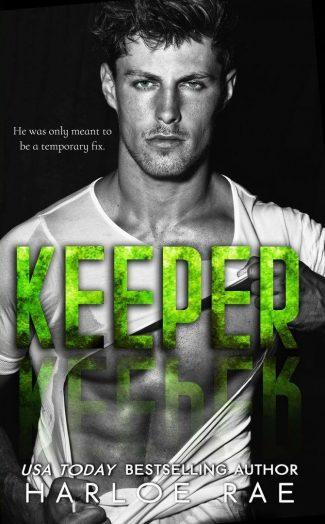 Cover Reveal: Keeper by Harloe Rae