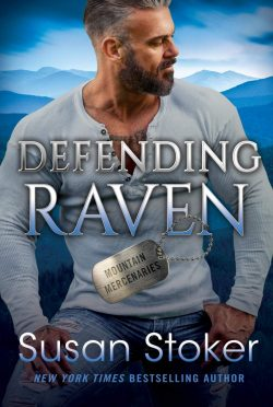 Cover Reveal: Defending Raven (Mountain Mercenaries #7) by Susan Stoker