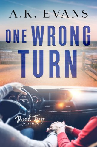 Release Day Blitz: One Wrong Turn (Road Trip Romance #3) by AK Evans