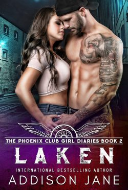 Cover Reveal: Laken (The Phoenix Club Girl Diaries #2) by Addison Jane