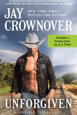 Release Day Blitz: Unforgiven (Loveless, Texas #2) by Jay Crownover
