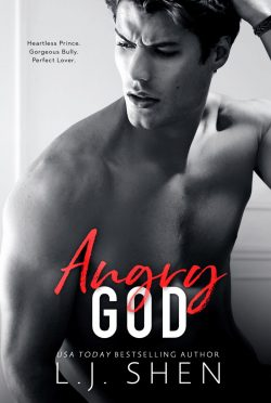 Cover Reveal: Angry God (All Saints High #3) by LJ Shen