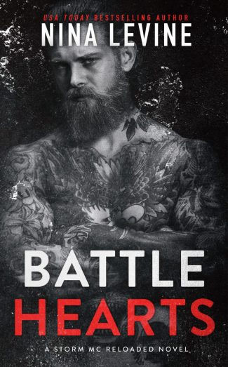 Release Day Blitz: Battle Hearts (Storm MC Reloaded #3) by Nina Levine
