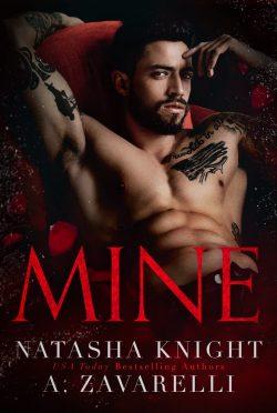 Cover Reveal: Mine (Ties that Bind #1) by A Zavarelli & Natasha Knight
