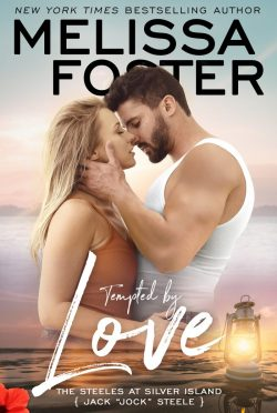 Cover Reveal & Giveaway: Tempted by Love (The Steeles at Silver Island #1) by Melissa Foster