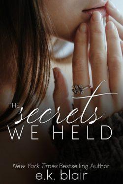 Cover Reveal: The Secrets We Held (Secrets & Truths Duet #1) by EK Blair