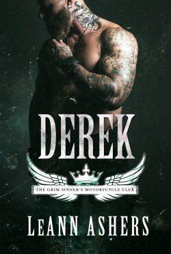 Release Day Blitz: Derek (Grim Sinners MC #5) by LeAnn Ashers