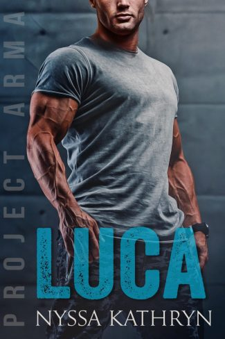Cover Reveal: Luca (Project Arma #1) by Nyssa Kathryn