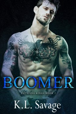 Release Day Blitz & Giveaway: Boomer (Ruthless Kings MC #2) by KL Savage