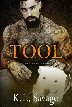 Cover Reveal: Tool (Ruthless Kings MC #3) by KL Savage