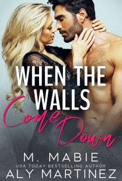 Cover Reveal: When the Walls Come Down by Aly Martinez & M Mabie