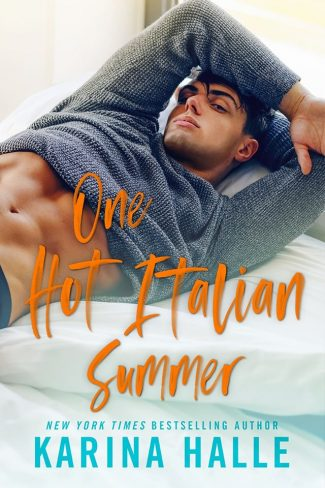 Cover Reveal: One Hot Italian Summer by Karina Halle