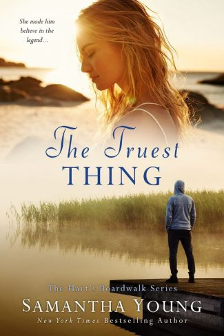 Cover Reveal: The Truest Thing (Hart's Boardwalk #4) by Samantha Young