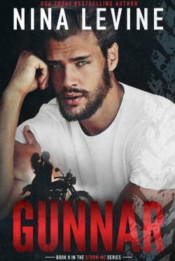 Cover Reveal: Gunnar (Storm MC #9) by Nina Levine